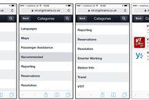 Intranet mobile / Una rassegna di screenshot di versioni mobile di intranet
