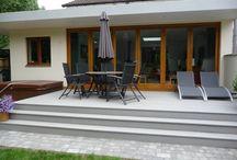 patio & driveway