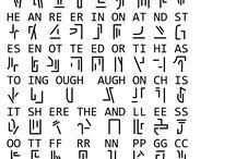 Cryptography ideas / alphabets