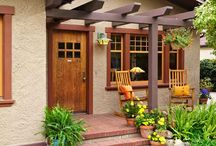 House front entry