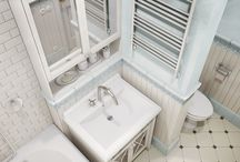 ванная в цоколе