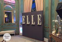 Soirée d'anniversaire des 30 ans du ELLE Magazine US / Photocall, photobooth