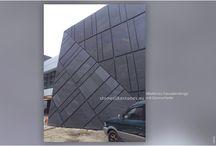 Dünnschiefer - Fassaden / Dünnschiefer von StoneslikeStones - auch Leichtschiefer oder Echtstreinfurnier - ist das ideale Material zur Fassadenverkleidung