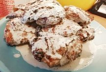 Chicken with White BBQ Sauce Recipe