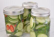 groente en fruit inmaken en of wecken