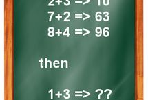Logic games / Test here if you are a genius by solving these issues. Show your QI