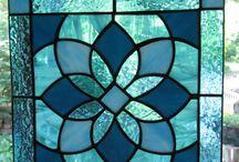 Glass door panel ideas
