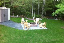 This is my back yard! / This is a project from last summer 2014