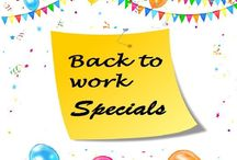 Bosch Back to Work Promotions