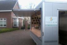 Bourgondische frietwagen / De bourgondische frietwagen van Tousain Catering service