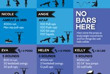 Crossfit Training / Crossfit Exercising