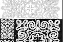Crochet Lace / A range of different crochet lace techniques.