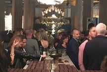The Restaurant by Tom Dixon / Fuorisaloni em Milão 2016 durante a festa de Tom Dixon