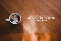 Grafted Magazine / Content from the grafted magazine website. http://www.graftedmagazine.com/ / by Grafted Magazine