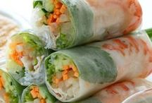 Rice Paper Rolls & Sushi