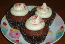 Cupcakes used in the cupcake mysteries / Cupcakes made for the mystery series.  Yum!
