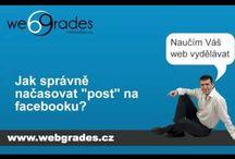 Videotutorials / Mé video-tutoriály o sociálních sítích webdesignu a optimalizaci pro vyhledávače (SEO).