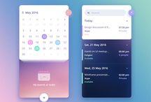 Design - APP - Calendar