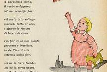 Filastrocche, poesie e leggende