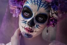 Day of the Dead - Día de los Muertos / #DiaDeLosMuertos #DayOfTheDead #Calavera #Catrina #SugarSkulls / by Bent Whims Studio