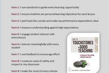12 touchstones of Good teaching / by Trina White