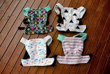 Horgolt baba hordozó/Crochet baby doll carrier, mei tai