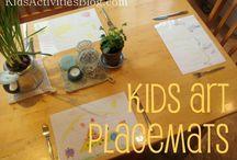 KIDS ☆ Repurposing Kid's Art