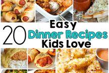 Kid Friendly Family Dinner
