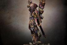 40k Harlequins / Motley ideas / by Tink Jones