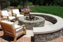 Fire Pit & paving