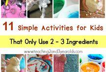Tiny Tot Ideas!! / Fun easy ideas
