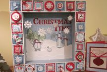 Stampin' Up! Christmas 3D / by Melissa Davies - bee divine designs