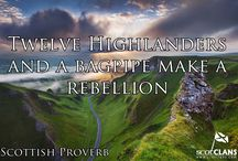 Scottish/Gaelic Proverbs / A selection of Scottish and Gaelic proverbs