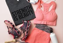 Fitness Clothes and Stuff