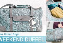Tote Bag Sewing Patterns / Discover all kinds of tote bag sewing patterns and tutorials.