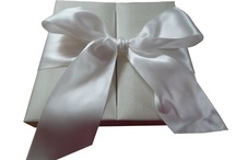 Silk Invitation & Favour Boxes
