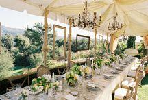 """Apparecchiare la tavola di nozze/table setting / Idee per realizzare una mise en place perfetta e una decorazione da """"effetto wow"""" per le vostre nozze"""