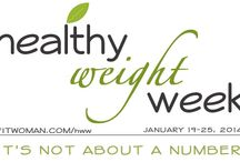 Healthy Weight Week / Healthy Weight Week 2015, from January 19-25, is an opportunity to change the conversation about weight and to promote diet-free living habits that last can last a lifetime and prevent eating and weight problems.