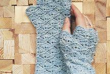 kesztyű, zokni
