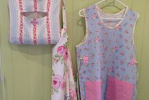 Fabric / Cotton fabric and oilcloth