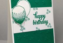 Balloon Celebration stampin