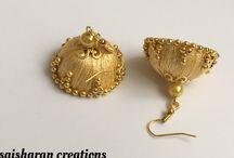 silk thread earings 3