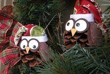 Natal / Enfeites e comidas de Natal