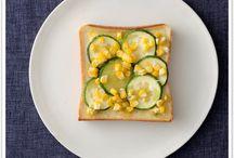 Aug 2016 / Everyday Toast ! / 【8月のトーストカレンダー】毎日トースト!