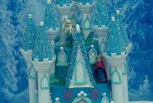 замок снежный