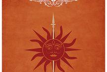 House Martell || got / 《Unbowed. Unbent. Unbroken.》-House Martell of Dorne