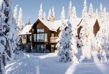Architecture... sous la neige