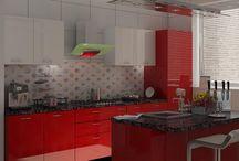 IslandKitchen / Modular Kitchen Cabinets