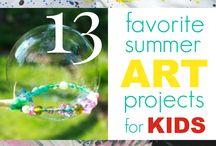 Kid activities / by Summer Robinson