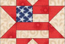 Stars and stripes / Patriotic quilts